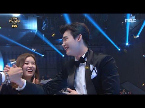 [2016 MBC Drama Awards]2016 MBC 연기대상- Grand prize of the year! Lee Jongseok 20161230 (видео)