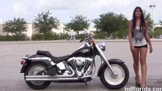 10. Used 2001 Harley Davidson FatBoy Motorcycles for sale in Tampa Fl