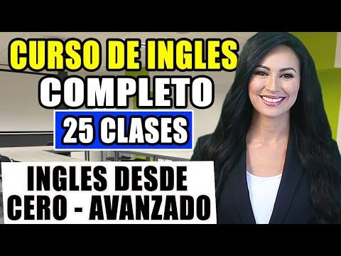 Curso de ingles desde el inicio COMPLETO Y GRATIS para PRINCIPIANTES hasta AVANZADO