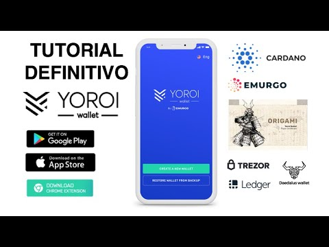 🔥Yoroi Wallet Tutorial Definitivo Cardano ADA staking