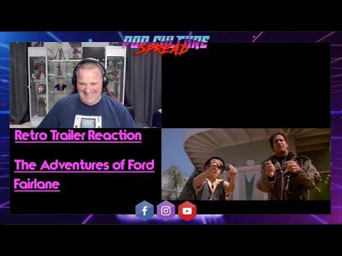 Retro Trailer Reaction: The Adventures of Ford Fairlane 1990