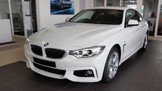 """Hello and welcome to BMW.view. In this video we review the interior and exterior of the 2017 BMW 420d Coupé Modell M Sport. Produced in 4K. Facebook: https://www.facebook.com/pages/BMWview/860051290681663?ref=hlsubscribe -[BMW.view]- here: https://www.youtube.com/channel/UCuZoR8ZNgfPKBaPMPryyD1gMotor/engine: 140 KW/1995 ccmLackierung: Alpinweiß uniPolster: Stoff Hexagon / Alcantara Anthrazit/SchwarzFelgen: 18"""" M Leichtmetallräder Sternspeiche 400 M Licht: Xenon-Licht für Abblend- und FernlichtGrundpreis: 40.800 ,00 EURPakete: 7.140,00 EURSonderausstattung: 7.940,00 EURÜberführungskosten: 760,00 EURZulassung inkl. Wunschkennzeichen: 150,00 EURGesamtpreis = 56.790,00 EURPakete: Modell M Sport, M Sportpaket, ConnectedDrive, Comfort Paket, Sonderausstattung"""