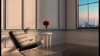Time lapse - Modeling Barcelona Chair [3ds Max]