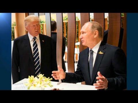 Η πρώτη χειραψία Τραμπ – Πούτιν