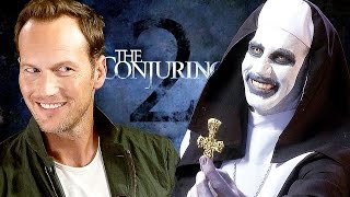 Nonton The CONJURING 2 - Creepy Interview with Patrick Wilson & James Wan & Valak Film Subtitle Indonesia Streaming Movie Download