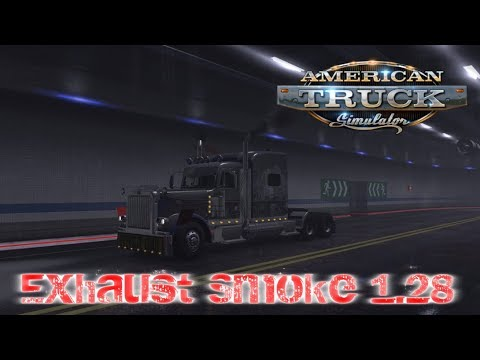 Exhaust Smoke & Al Traffic for ATS 1.28