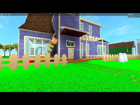 Hello neighbor: The new Neighborhood Roblox speedrun (видео)