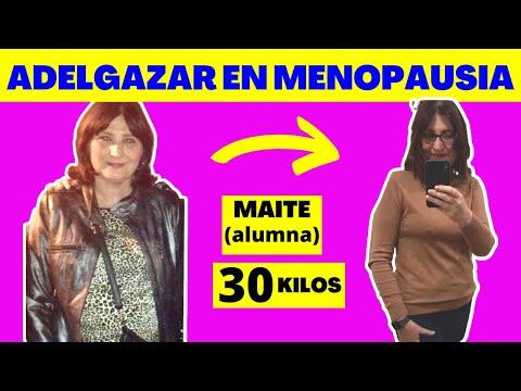 COMO ADELGAZAR EN LA MENOPAUSIA - DIETA Y ALIMENTOS PARA BAJAR DE PESO