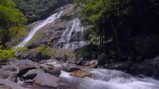 KAGOSHIMA Energetic Japan ?Waterfall Relaxation 60min 4K