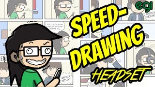 Video Speed Drawing: Headset MP3, 3GP, MP4, WEBM, AVI, FLV Oktober 2017