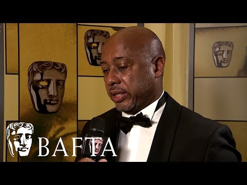 I Am Not Your Negro Director Raoul Peck Talks Backstage At The BAFTA's On His Documentary Win