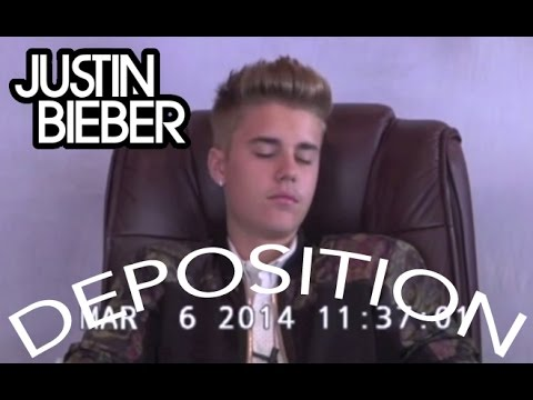 Bieber - Justin Bieber Deposition Norwegian text by VGTV Follow me: http://www.facebook.com/christopher.d.lunde http://www.instagram.com/christopherlunde http://www.t...
