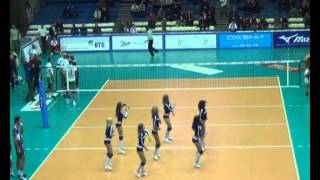 White No.10 vs Belgorod 2014/15