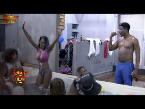 Day 75: Splish-splash With The Pepper Dem Gang | Pepper Dem: Big Brother | Africa Magic