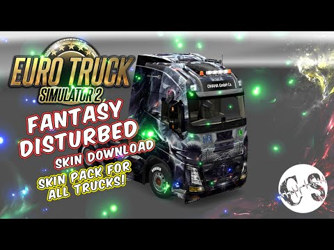 Fantasy Disturbed Skin Pack for All Trucks