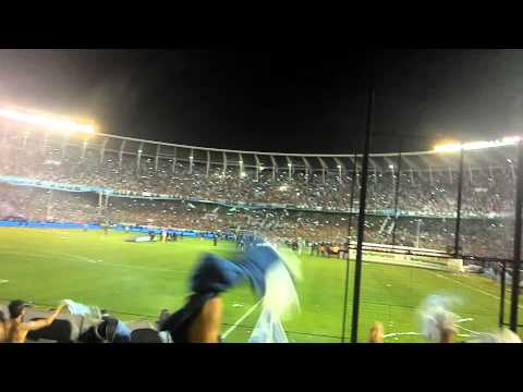 Racing Club de Avellaneda Campeón - Hinchada cantando - La Guardia Imperial - Racing Club
