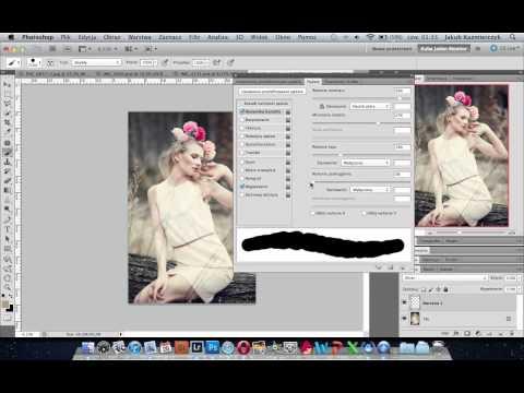 Efekt zamglenia w Adobe Photoshop - poradnik wideo