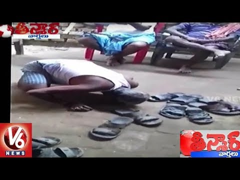 Old Man In Nalanda Forced To Spit And Lick Own Saliva Off Ground | Teenmaar News
