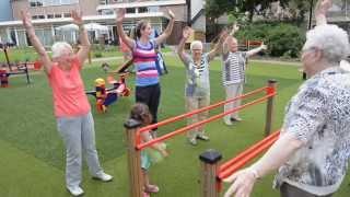 Beweegtuin voor ouderen en kinderen