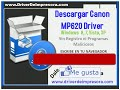 Descargar Canon mp620 Driver Windows 8,7,Vista, XP 32 64 bit