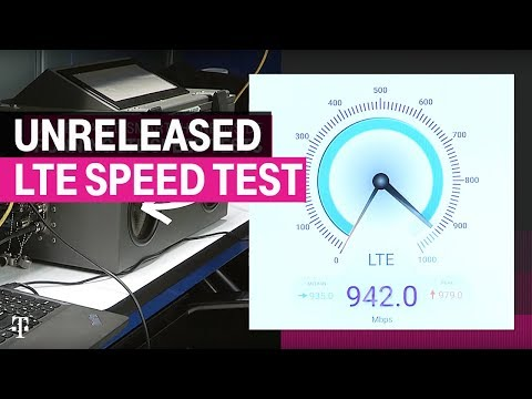 T-Mobile hits close to 1Gbps on an LTE connection