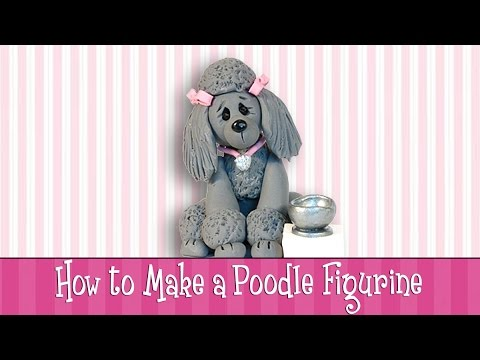 How to Make a Poodle Figurine - Check it out!
