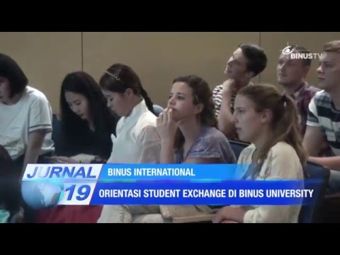 International Student Exchange Orientation Spring 2016