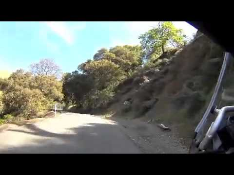 Honda NC700X DCT - A ride on Welch Creek Road