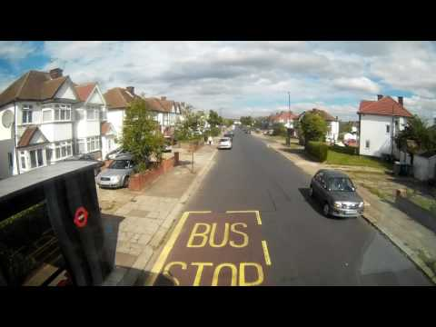 *Route Visual* 204 – Sudbury Town to Edgware – Metroline (видео)