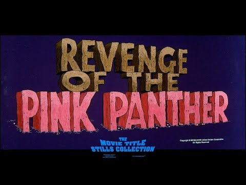 Revenge of the Pink Panther (1978) title sequence
