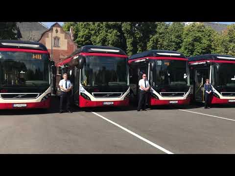 Wideo1: Oficjalne przekazanie autobusów hybrydowych dla MZK