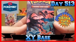 Pokemon Pack Daily XY Base Booster Opening Day 513 - Featuring PokeMart Clerk by ThePokeCapital