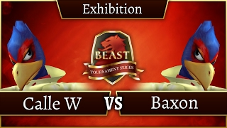 Who is Europe's best Falco? Calle W vs Baxon exhibition at BEAST 7