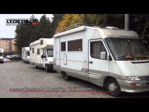 Piazzola camper Via Strinella
