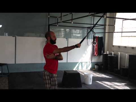 Paradiso CrossFit Mobility – Classic Overhead Band Distraction