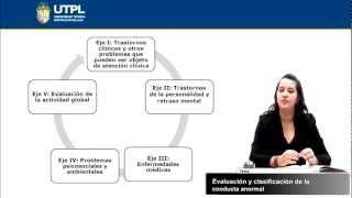 UTPL EVALUACIÓN Y CLASIFICACIÓN DE LA CONDUCTA ANORMAL [(PSICOLOGÍA)(PSICOPATOLOGÍA I)]