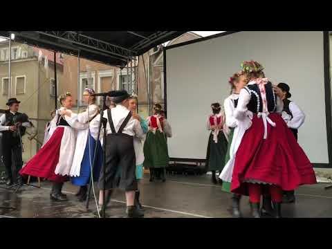 Wideo1: Fragment występu zespołu regionalnego Nowe Lotko z Bukówca Górnego we Wschowie
