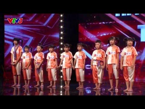 Nhảy hiện đại trên nền nhạc dân gian - Nhóm CC KIDS