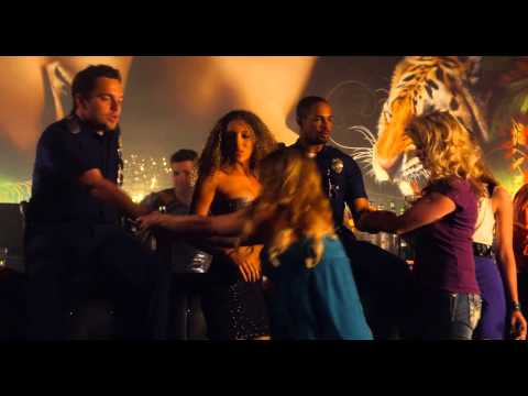 Let's Be Cops strip club scene