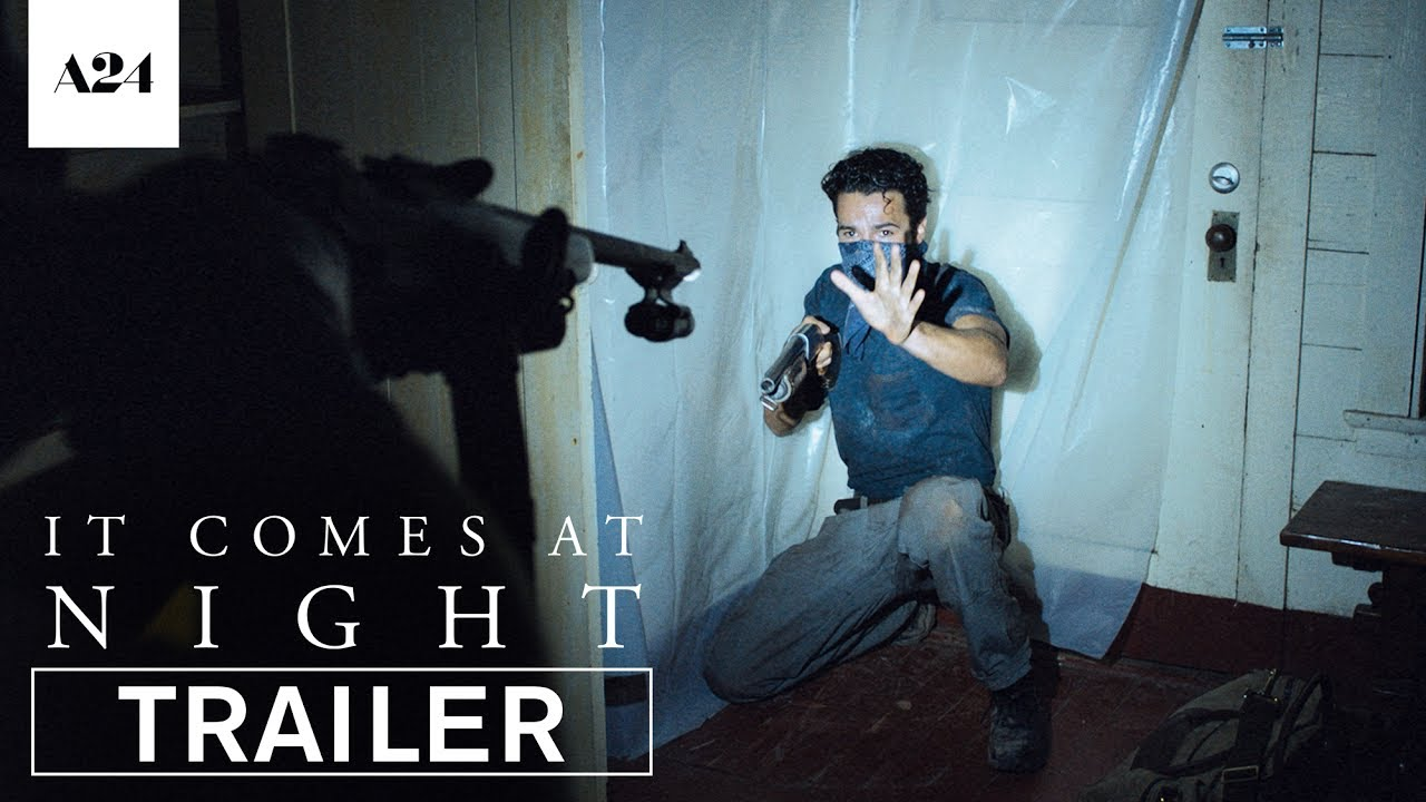 Fear turns Men into Monsters. Watch Joel Edgerton Protect his Family from an Evil Presence in 'It Comes At Night' with Riley Keough & Carmen Ejogo