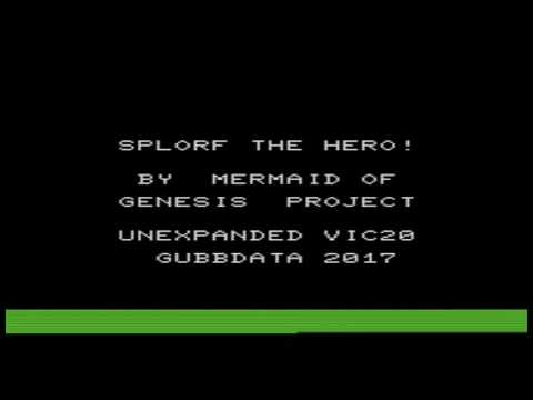 Commodore VIC 20 music: Splorf the Hero!