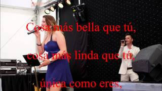 Video Karaoke La cosa mas bella Versión S. Dalma y Leire