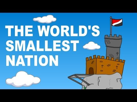 The world s smallest nation Sealand