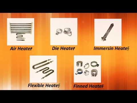 High Watt Density Cartridge Heaters, Ceramic Band Heaters