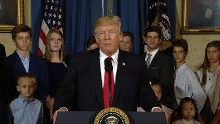 The president's remarks come one week after the Senate's most recent health care bill failed to make it to a vote.SUBSCRIBE to ABC NEWS: https://www.youtube.com/ABCNews/Watch More on http://abcnews.go.com/LIKE ABC News on FACEBOOKhttps://www.facebook.com/abcnewsFOLLOW ABC News on TWITTER:https://twitter.com/abcGOOD MORNING AMERICA'S HOMEPAGE:https://gma.yahoo.com/