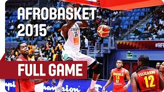 Watch the full game Senegal v Angola at AfroBasket 2105. For more info on the event go to http://www.fiba.com/afrobasket/2015/ Subscribe to our YouTube chann...
