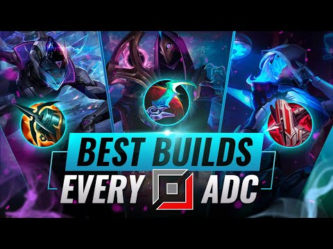 BEST Builds For EVERY ADC in Preseason 11 - League of Legends