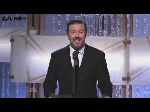 Ricky Gervais Mono-Open Golden Globes 2010-2011-2012 (видео)