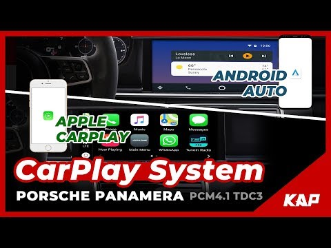 Porsche New Panamera Android AUTO & Carplay FULL SCREEN