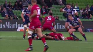 Rebels v Reds Rd.12 Super Rugby Video Highlights 2017